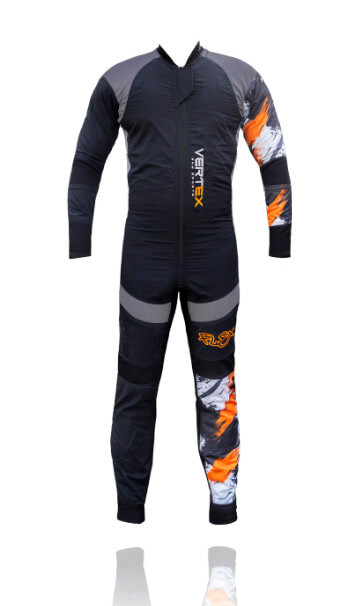 Description of our FLEX freefly professional skydive suit by Vertex sky sports UK
