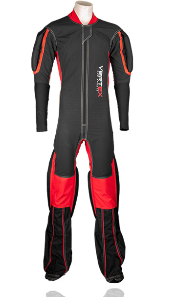 Description of our RW formation skydive suit. Made by UK based skydiving company Vertex sky sports